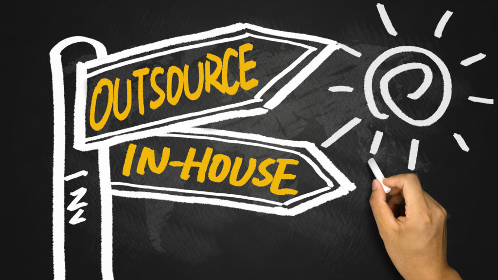 outsource or inhouse
